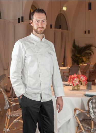 Chef Claudio Lanuto, Dei Cappuccini Restaurant Amalfi